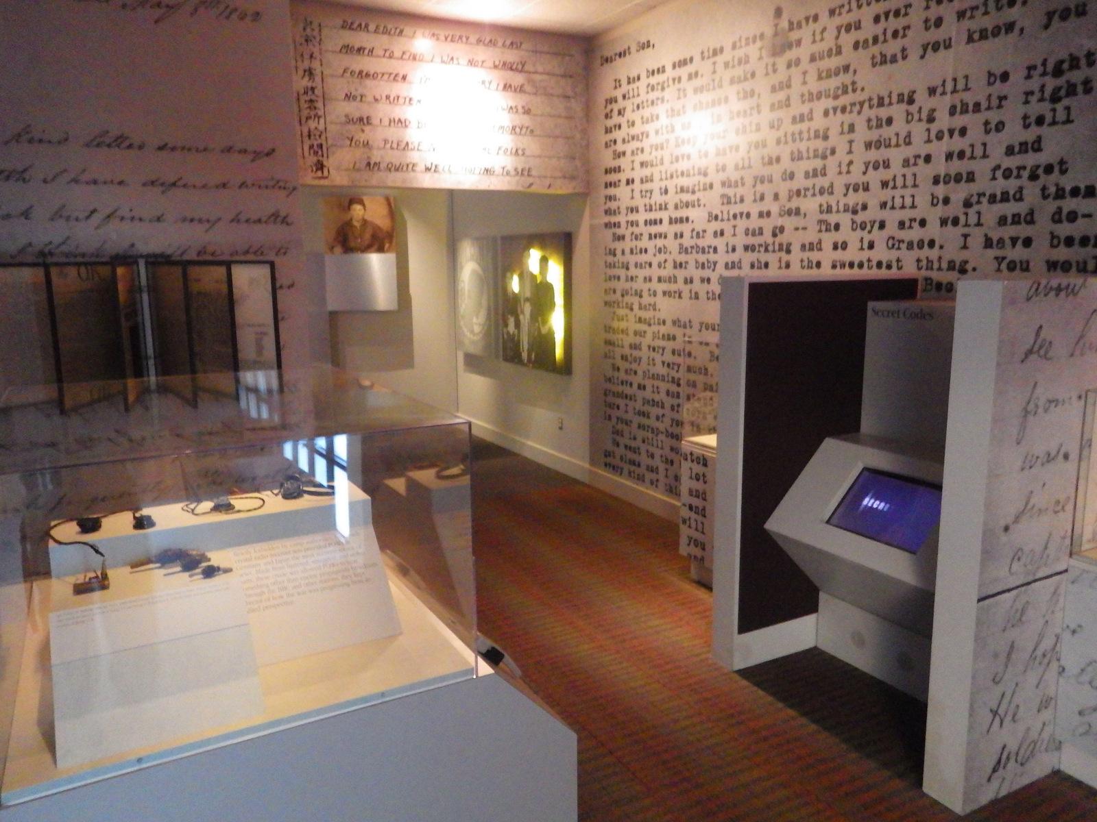 Inside the POW museum