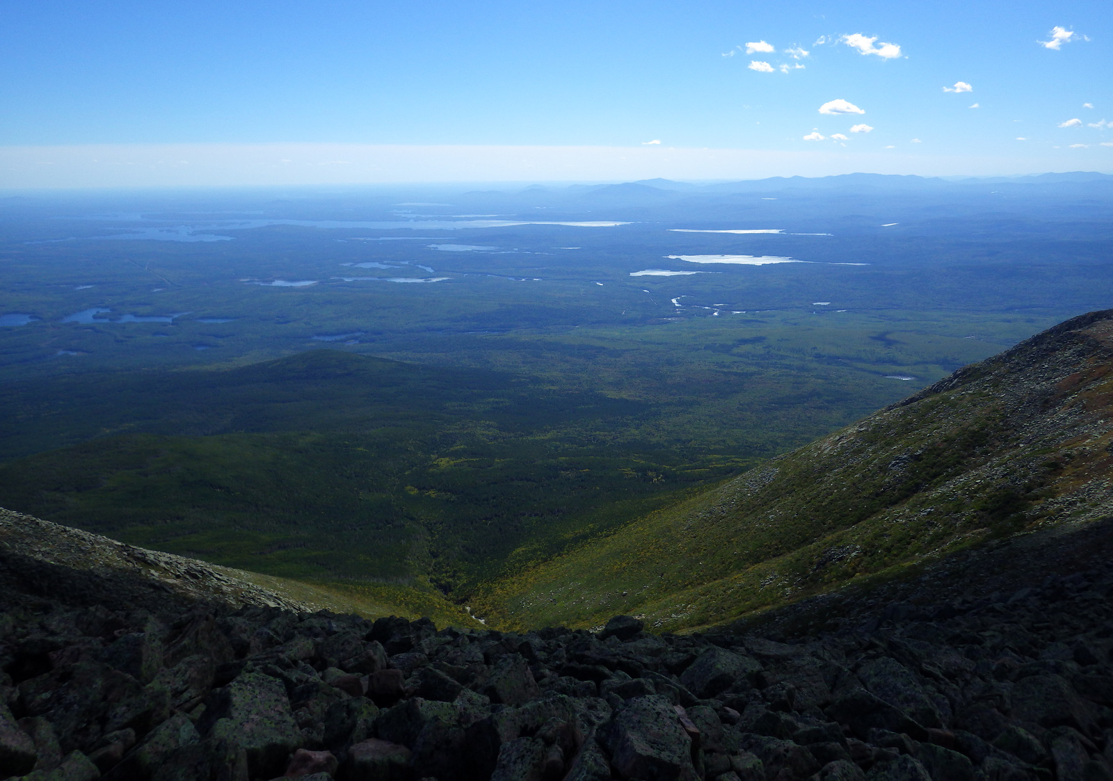 A view of the new Katahdin Woods and Waters National Monument