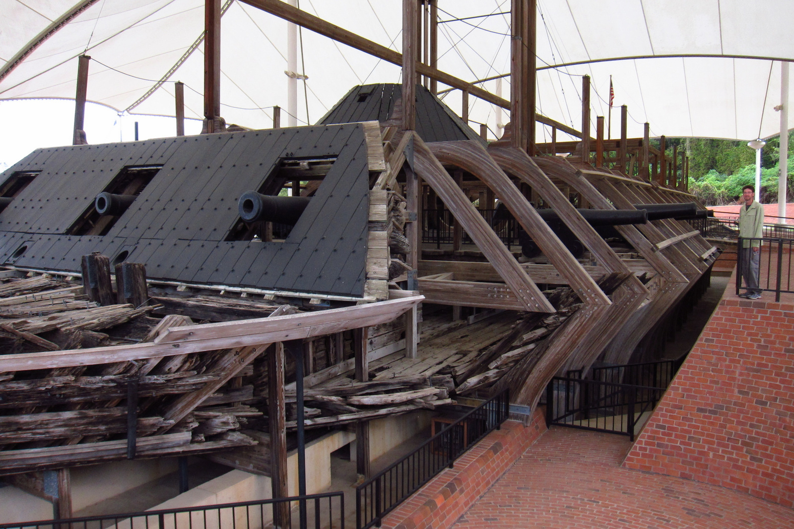 Scott with USS Cairo