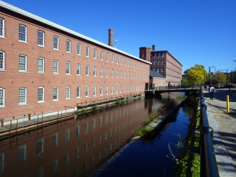 A mill at Lowell