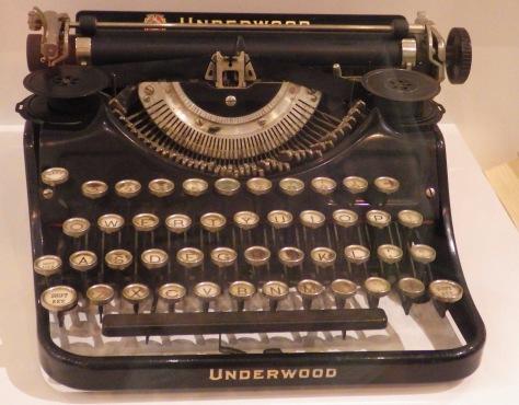 Kerowac's typewriter