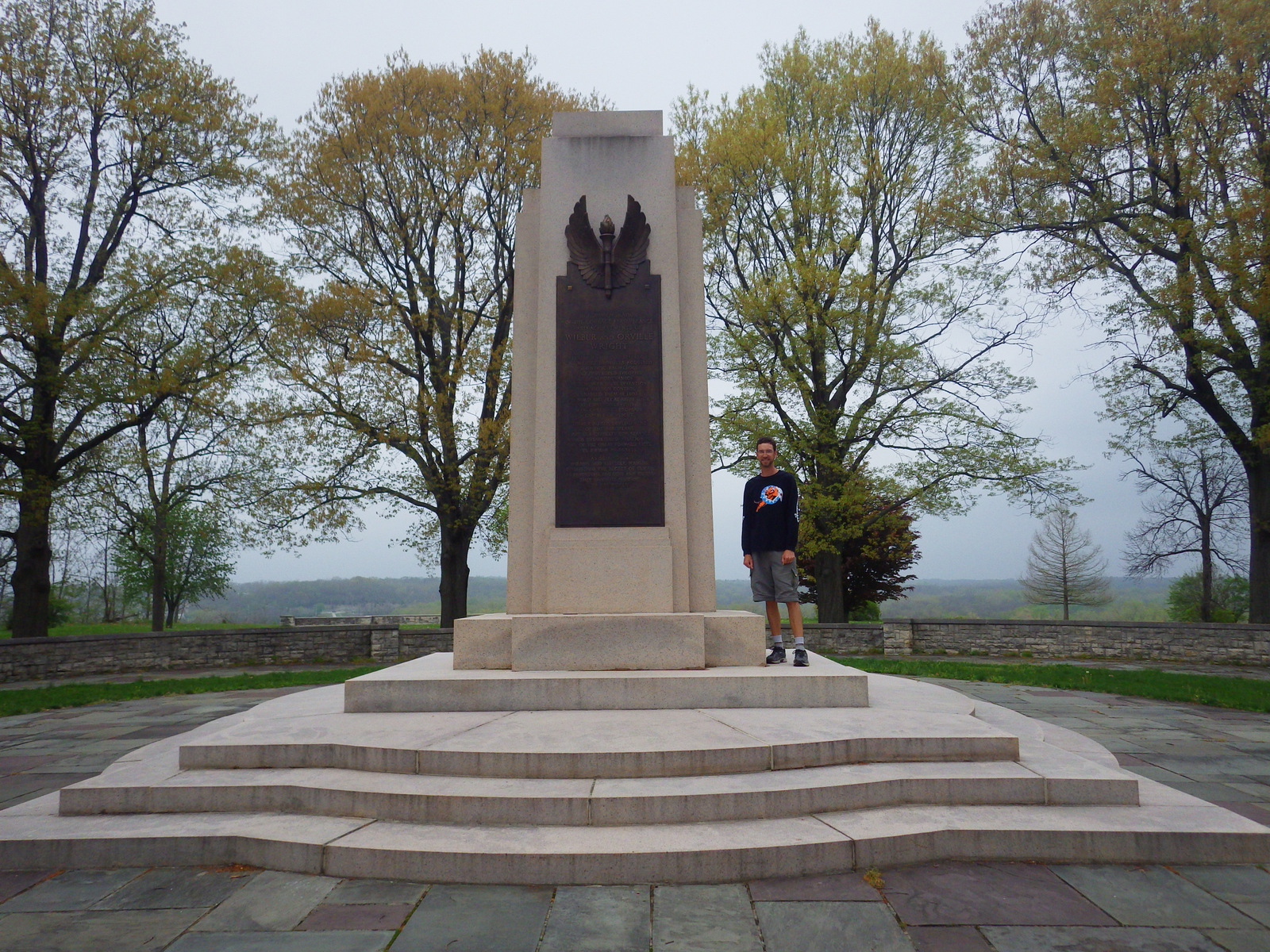 A memorial to the Wright Brothers