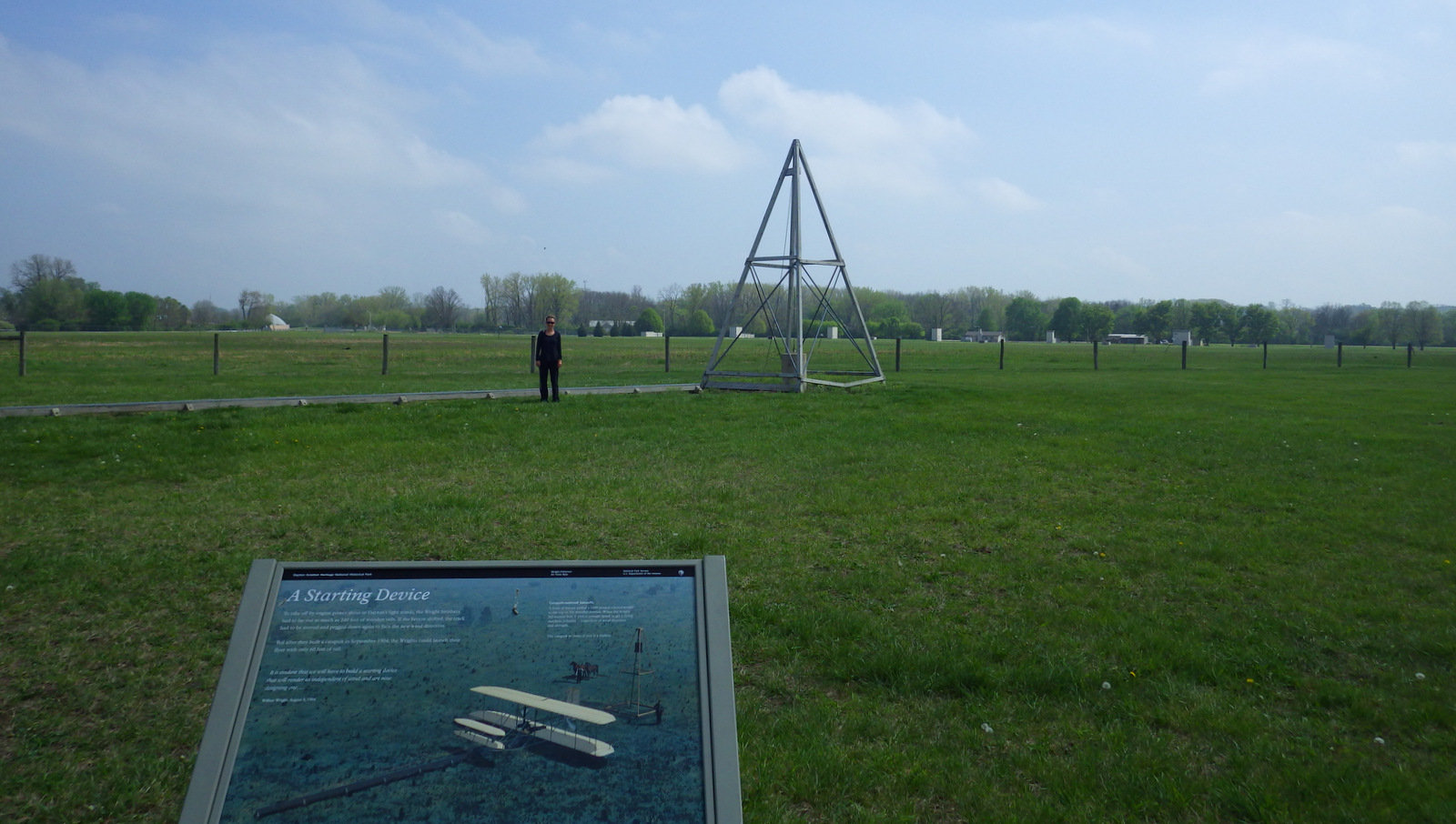 A catapult like this replica helped with airplane liftoff